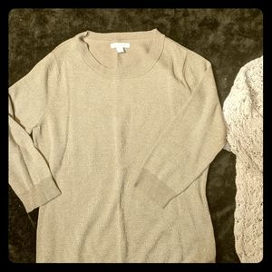 NY& Company + Abercrombie & Fitch sweater duo.